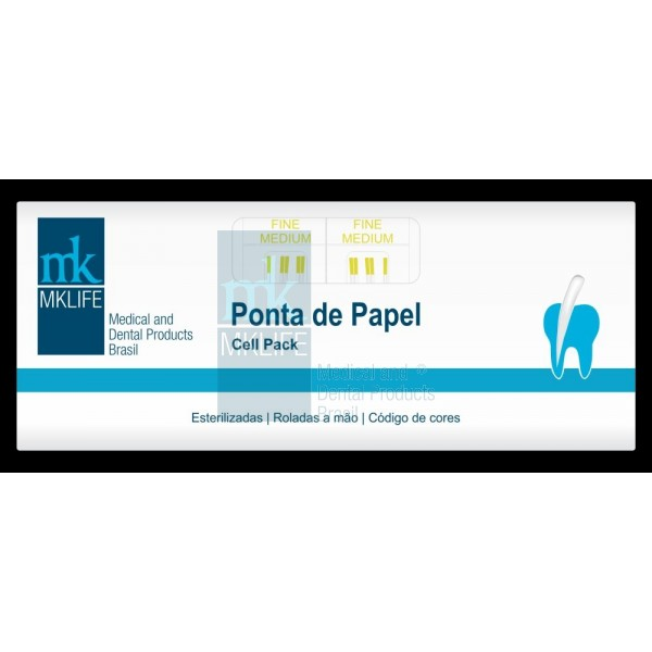 Ponta de Papel Cell Pack FM / M / ML