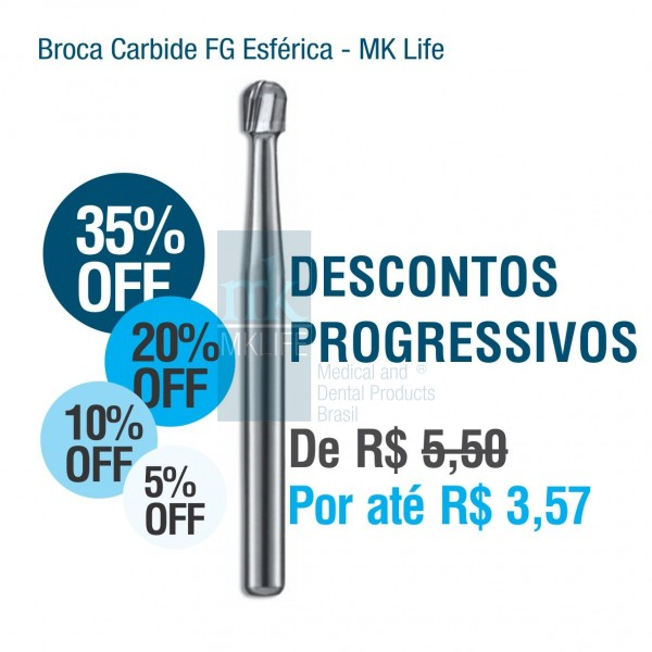 Broca Carbide FG MK Life