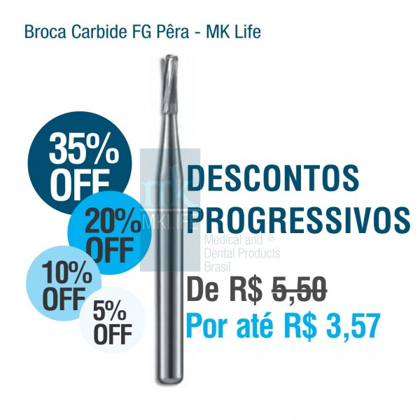 Broca Carbide FG MK Life - Nº245