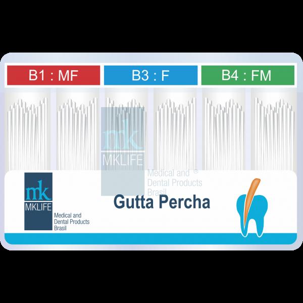 Cone de Gutta Percha Acessório B7, B8 e BS (Sortido)