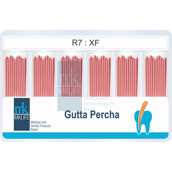 Cone de Gutta Percha Acessório R7, R8 e RS (Sortido)