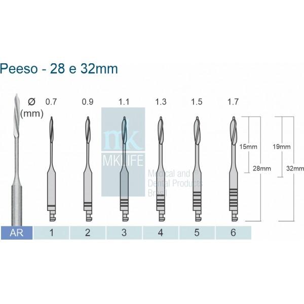 Broca Peeso 28mm c/06 unidades