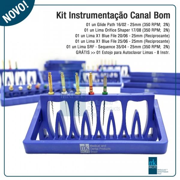 Kit Instrumentação Canal Bom MK Life